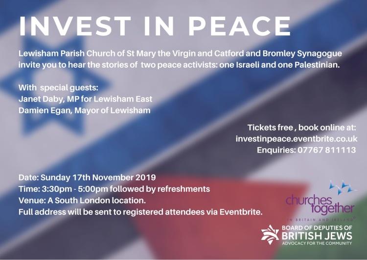 Invest in Peace Lewisham